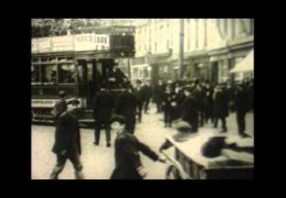 Earliest known moving footage of Plymouth