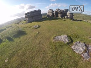 Dartmoor by air