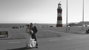 Julie & Nick's wedding – Plymouth Hoe
